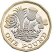 1 Pound Sterling Coin