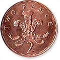 2 Pence Coin
